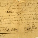 1805 Bill of Sale for Three Slaves Donated to Duke University