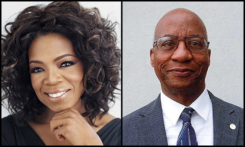 Oprah Winfrey and Donald R. Hopkins