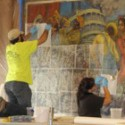 University Saving a Historical But Controversial Mural From a Building Scheduled for Demolition