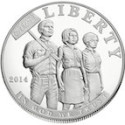 2014-Proof-Civil-Rights-Act-of-1964-Silver-Dollar-Obverse-