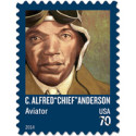 Tuskegee Flight Instructor Honored on U.S. Postage Stamp