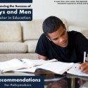 A Blueprint for Advancing the Educational Success of Black Males