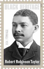 Robert Robinson Taylor Stamp for web