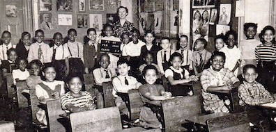 An elementary school class in The Bronx, 1949