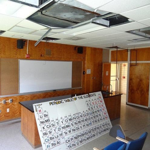 A Southern University classroom. Photo courtesy of Dr. Robert Mann.