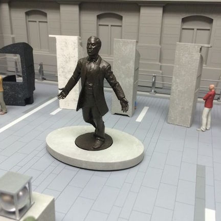 Artist rendering of the Octavius Catto memorial
