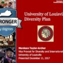 University of Louisville Publishes a Diversity Report