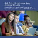 Report Examines the Higher Education Experience of Students Who Were in Ninth Grade in 2009
