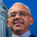 The First Black President of Bentley University in Waltham, Massachusetts